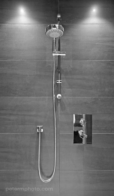 cosmiccinza tiles in en-suite shower