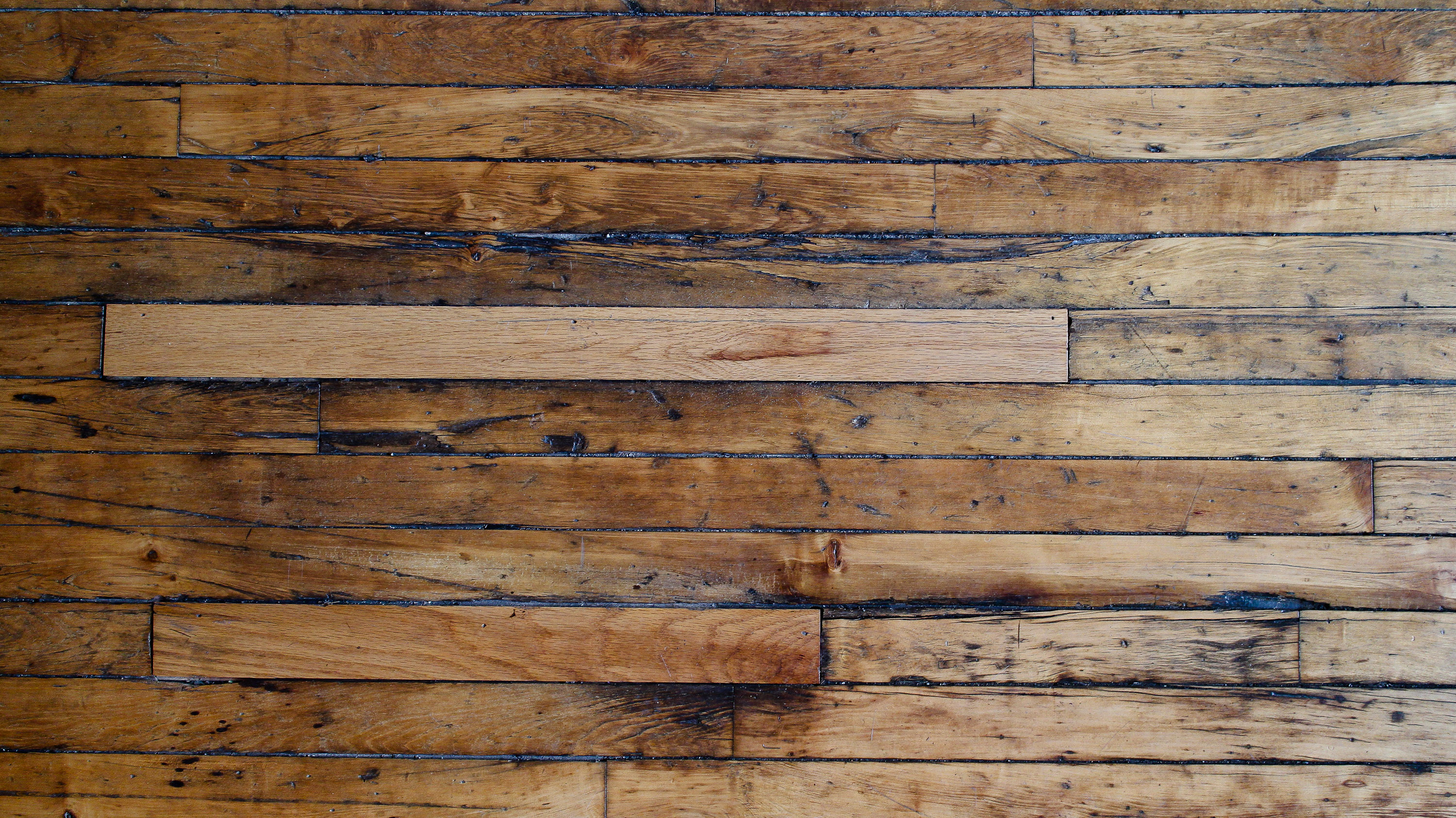 Close-up of Wood flooring