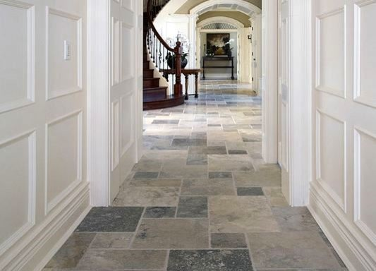 porcelain floor tiles - slate-effect