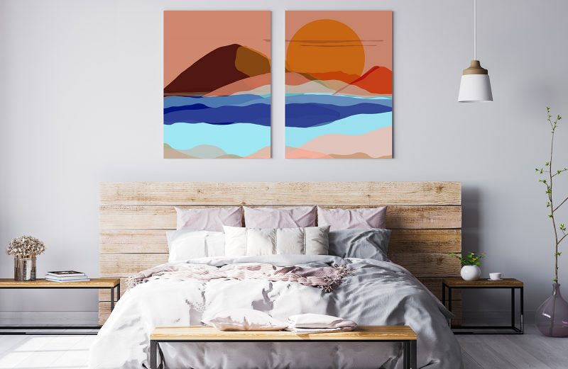 How to Style with Metal Prints: The Modern Wall Decor